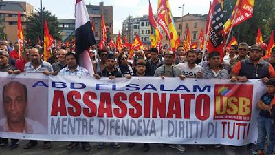 manifestazione a Piacenza 18 settembre 2016