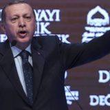 Il presidente turco, Recep Tayyip Erdogan, durante un comizio a Instanbul. OZAN KOSE AFP / ATLAS
