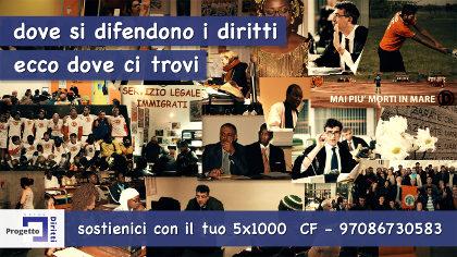 5x1000 Progetto Diritti