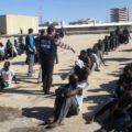 foto manifestazioen ambasciata libia